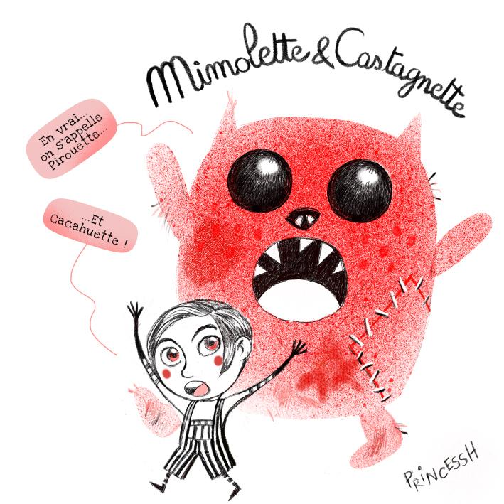 Mimole & Castagnette : pirouette, cacahuète