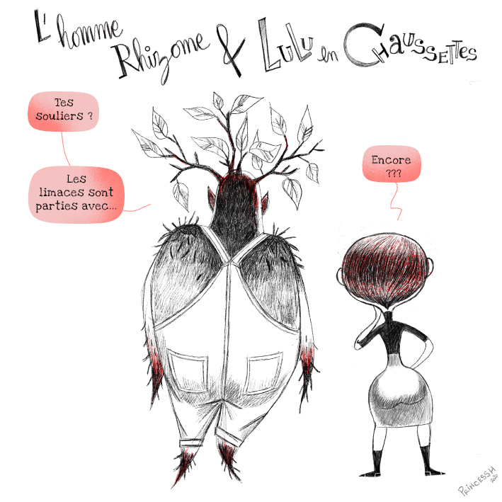 Les Duos Idiots (aka Histoires Minuscules) : L'Homme Rhizome & Lulu en Chaussettes