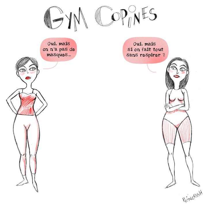 Les Duos idiots : les copines de gym et le coronavirus