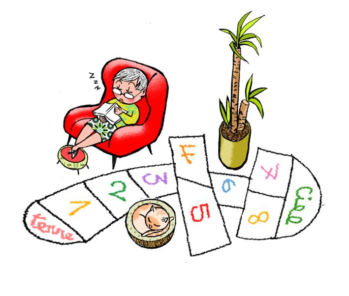 «Au secours, mes petits-enfants débarquent - Jeux et activités à la maison» auteur : Pierre Lecarme  illustrateurs : princessh, titwane éditions Plume de Carotte