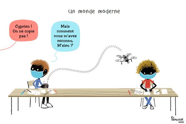 """""""Un monde moderne"""", pour La Croix du 03 septembre 2020"""