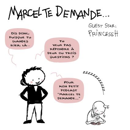 """Marcel te demande"" Marcel Ebbers, PrincessH, 2020"