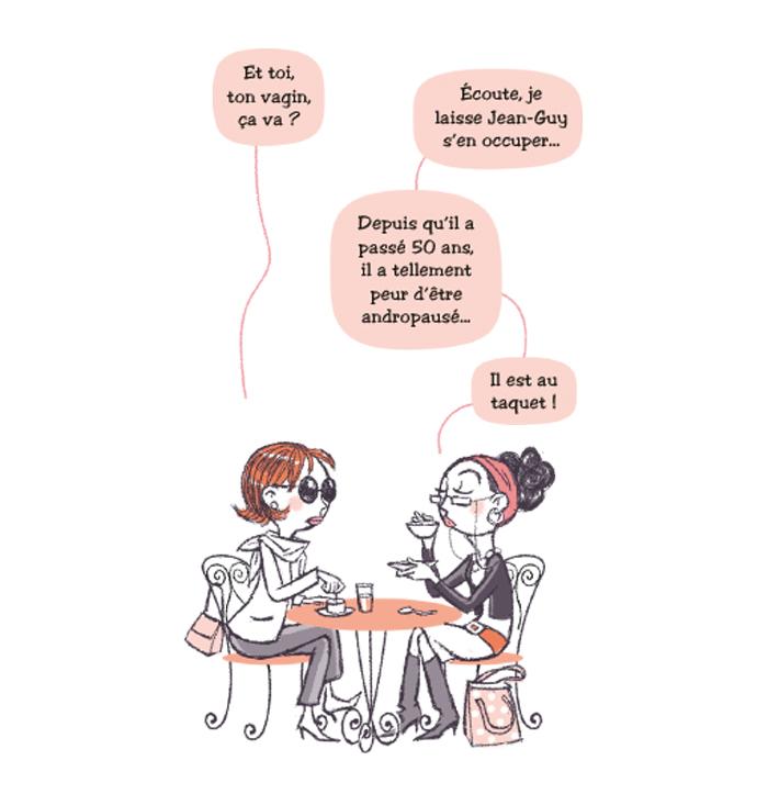 """Extrait de """"Ménopause, début d'une nouvelle vie"""", collection """"Toi et Moi, on s'explique"""", éditions Bamboo."""