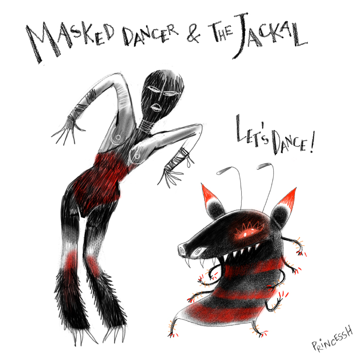 Duos Idiots : Masked Dancer & the Jackal, par PrincessH, novembre 2020