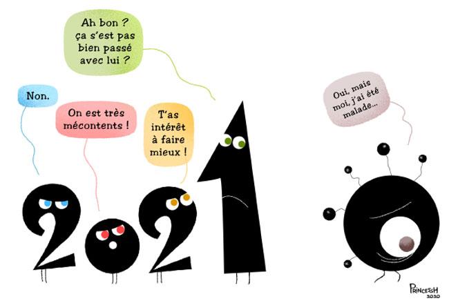 La Croix : 2021, par PrincessH