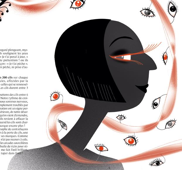 Bientôt sur Ululé, un récit de Lise Combe. Extrait : le Regard de Braise