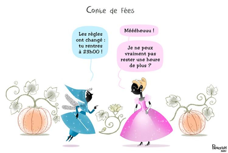 """""""Cendrillon"""", par PrincessH, pour La Croix du 10 juin 2021"""