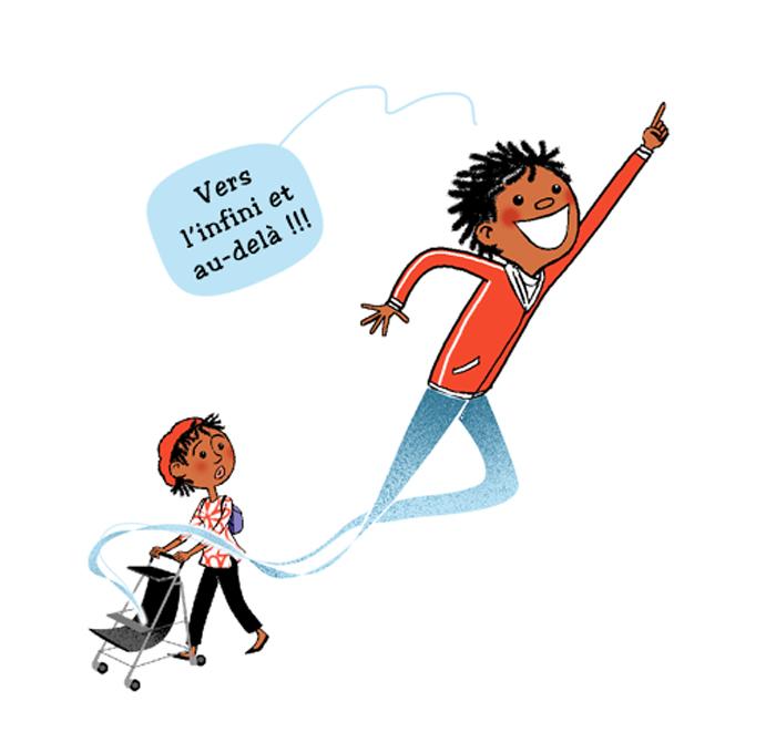 """extrait de""""Le Syndrome du Nid Vide : quand le petit dernier s'en va"""", couverture. Autrices : Brigitte Carrère, Charlotte Attry, PrincessH, éditions Bamboo, 1er septembre 2021."""