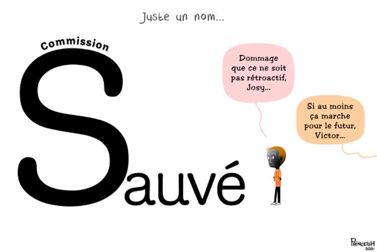"""""""Commission Sauvé"""", PrincessH pour La Croix du 7 octobre 2021"""