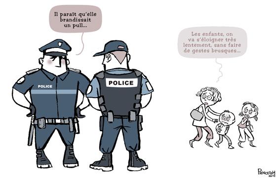 Violences policières ?