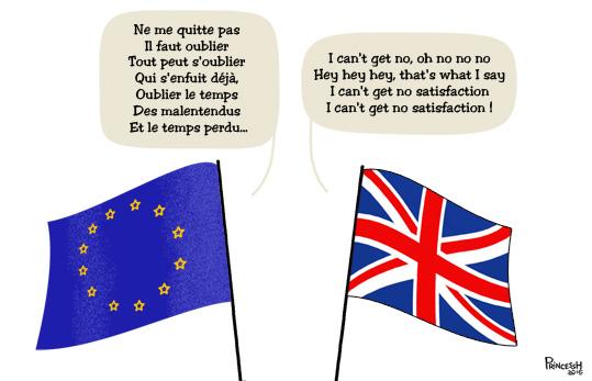 illustration pour La Croix du 23 juin16 : Brexit