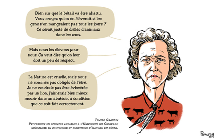 Citation de Temple Grandin