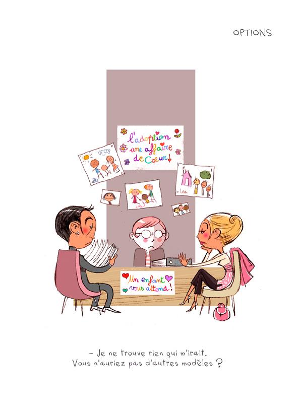 """Extrait de """"Apocalypse & Petits Biscuits"""", auteurs et illustrateurs : Pétronille & PrincessH, éditions Lapin."""