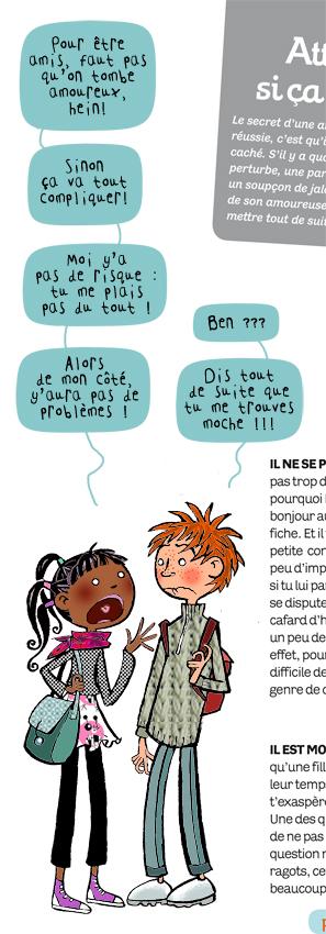 in Magazine Julie, Hors-série Amitié, 2013