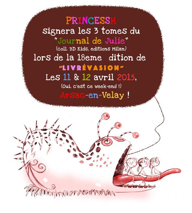 Signature à Arsac-en-Velay, Livrévasion 2015
