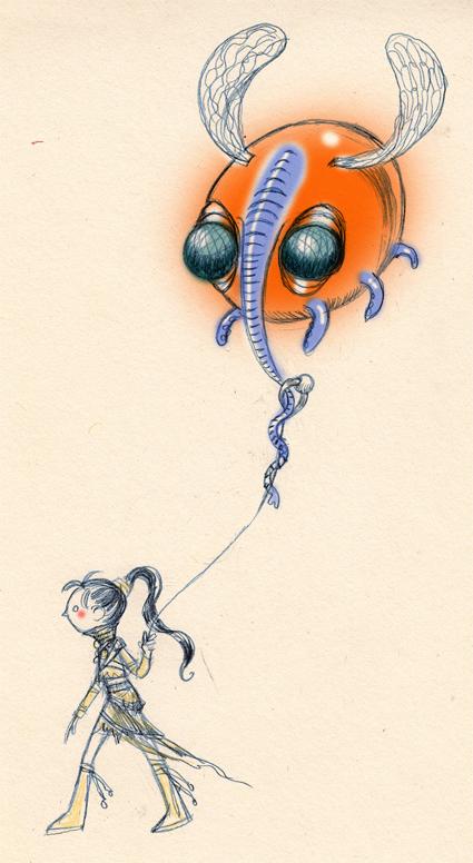 Julie et la chose volante annoncent la participation de PrincessH au2eme salon BD-Manga deBrie-Comte-Robert