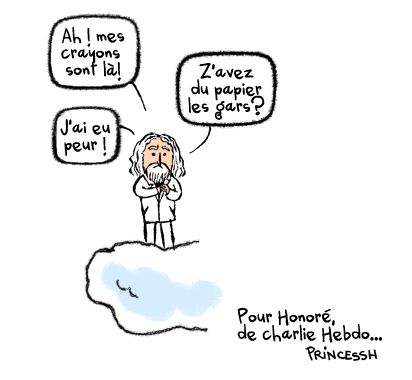 Honoré, dessinateur à Charlie Hebdo