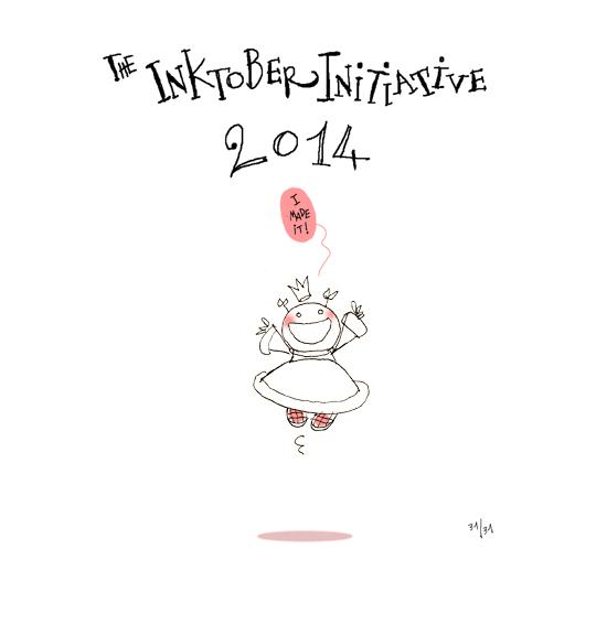 Inktober2014-PrincessH 31/31
