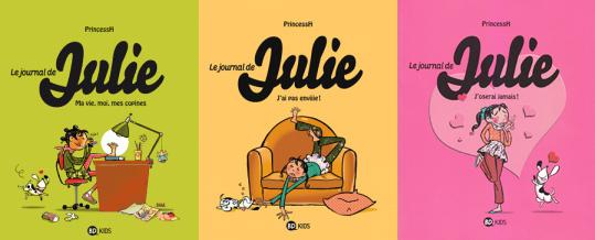 Journal-de-Julie- tomes 1 2 et 3