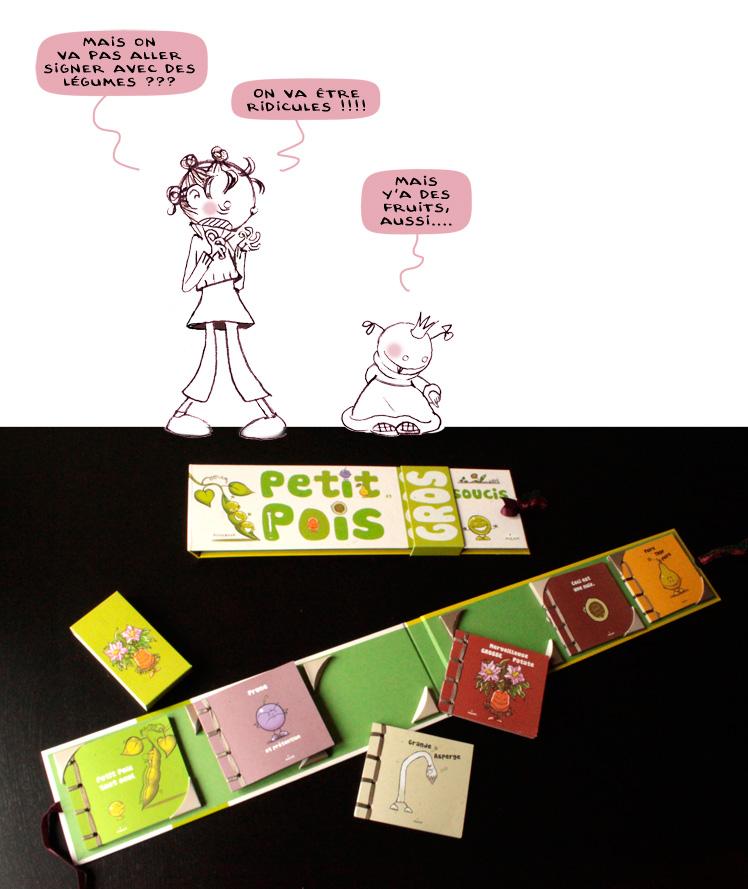 Petit Pois & Gros soucis, Milan Editions