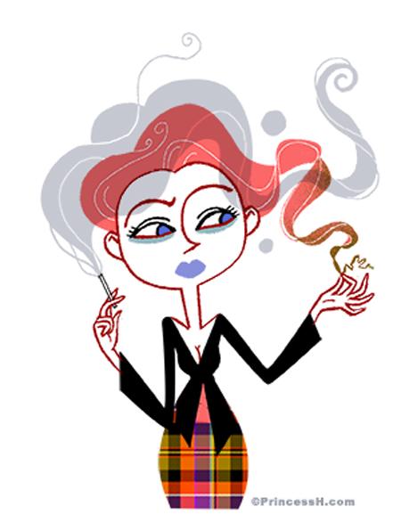 Le tabac et les cheveux