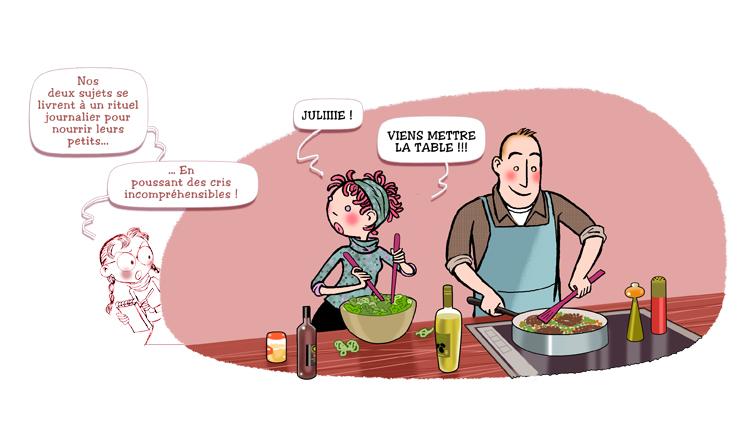 """Magazine Julie, Milan Presse, Rubrique Perso : """"5 vérités sur les parents"""""""
