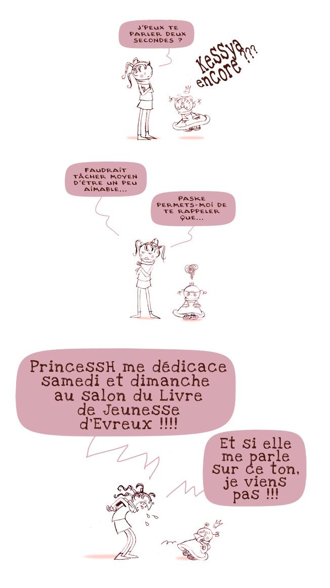 """Princess signe """"Le Journal de Julie"""""""