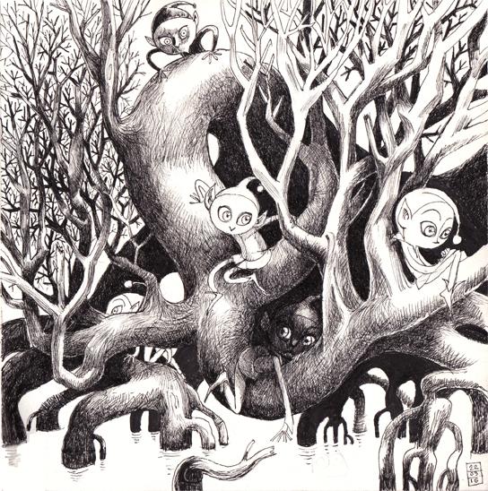 L'arbre aux lutins