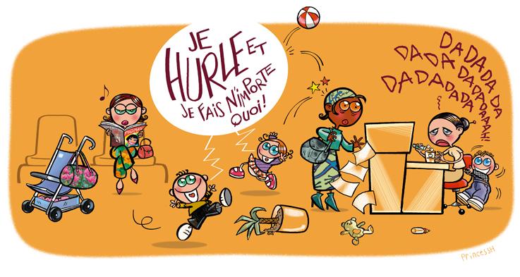 Illustrations - Règles de citoyenneté pour les zones d'accueil de la Mairie de Villlejuif