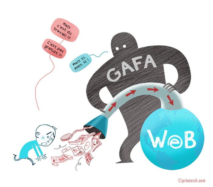 GAFA et le droit d'auteur