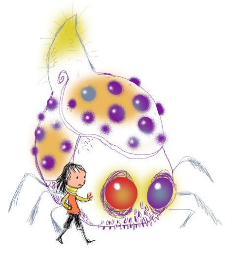 L'Insectoïde et la petite fille