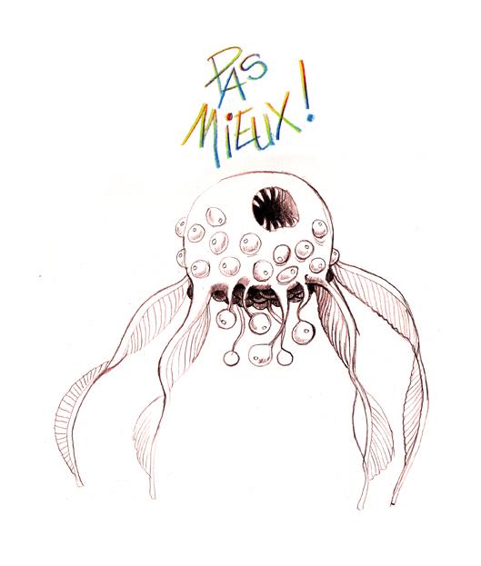La méduse du Jeudi