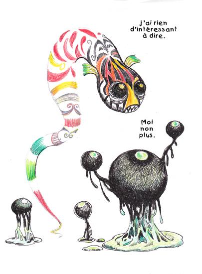 Le serpent et le Blob