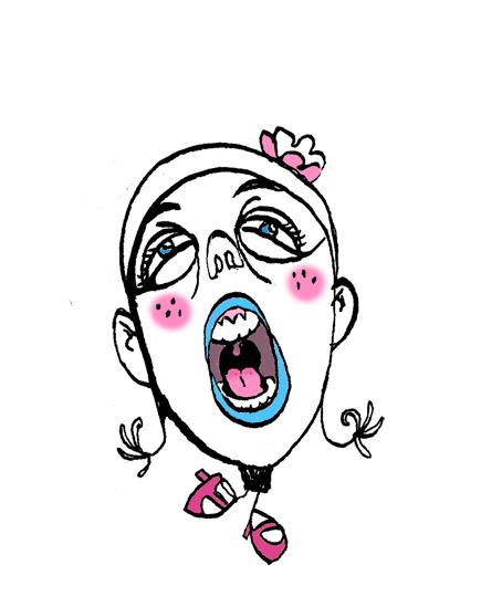 La tête chantante